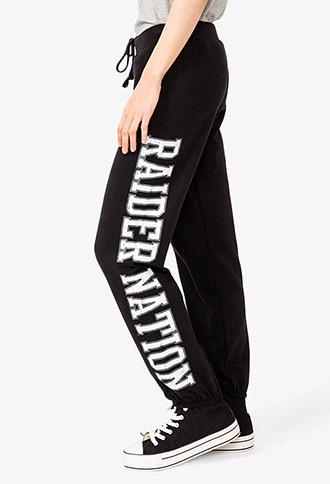 Forever 21 Raider Nation Athletic Pants