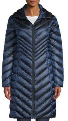 Saks Fifth Avenue Hooded Packable Jacket