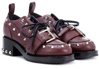 N°21 Studded leather shoes