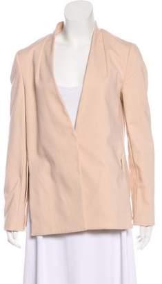 Tibi Button-Up Long Sleeve Blazer