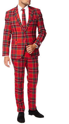 OPPOSUITS The Lumberjack Three-Piece Jacket, Trousers and Tie Set