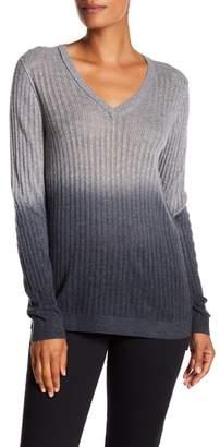 Tommy Bahama Cascade Dip Dye V-Neck Sweater
