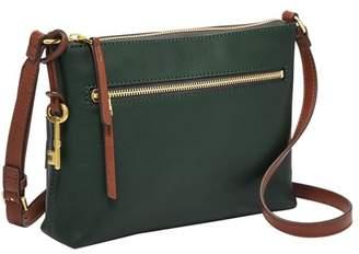 Fossil Fiona Ew Crossbody Handbags Black