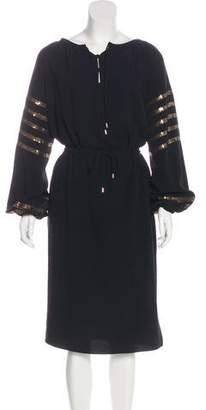 Altuzarra Embellished Midi Dress