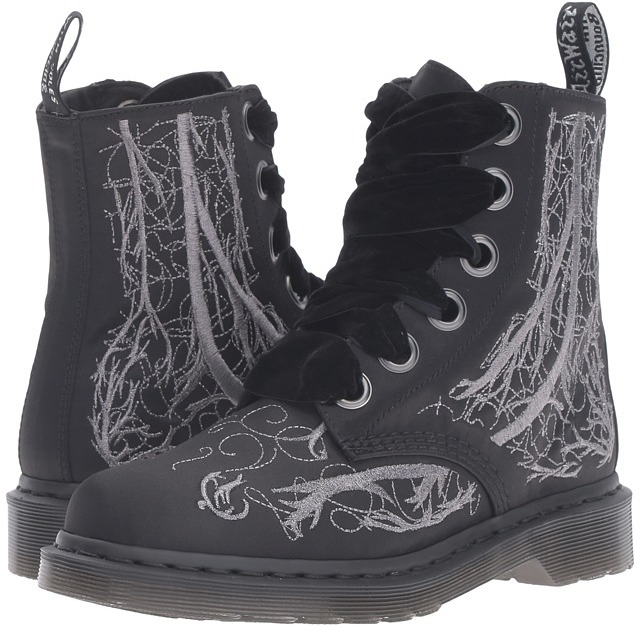 Dr. Martens Dr. Martens 1460 Vena Boot - Blood Vessel Silver Embroidery