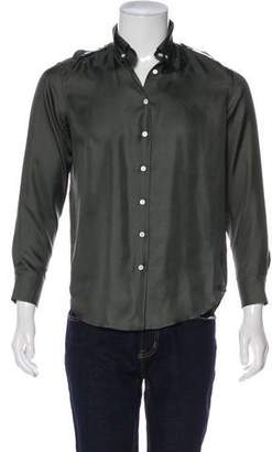 Band Of Outsiders Silk Button-Up Shirt