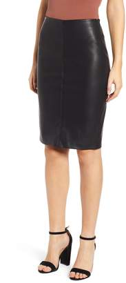 Blank NYC BLANKNYC Faux Leather Pencil Skirt