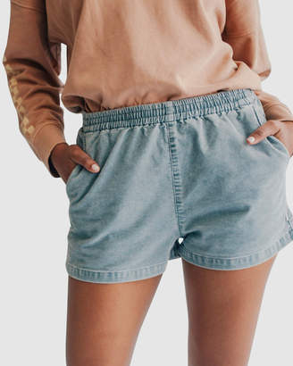 Quiksilver Womens Elasticated Cord Shorts