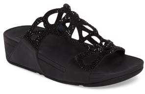 FitFlop Bumble Wedge Slide Sandal