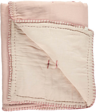 CAMOMILE LONDON Quilted Two coloured Embroidered Cover $133.20 thestylecure.com
