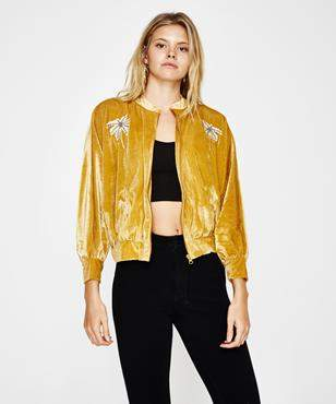 Amuse Society Somedays Jacket Golden