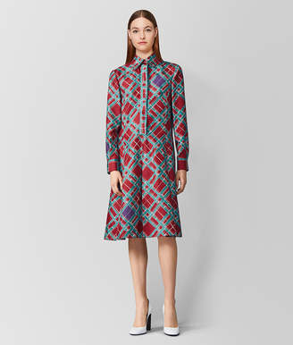Bottega Veneta MULTICOLOR SILK DRESS
