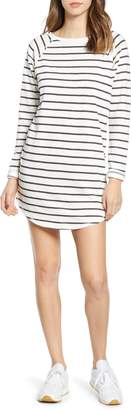Billabong Only You Stripe Sweatshirt Dress