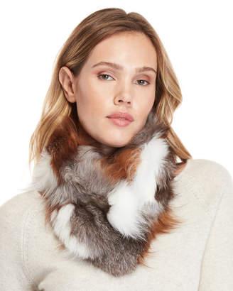 Adrienne Landau Real Fur Scarf