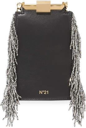 No.21 No. 21 Chain-Fringe Framed Bag