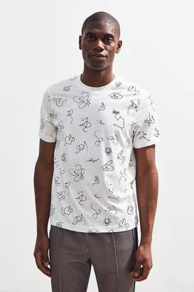 Lacoste Doodle Print Tee