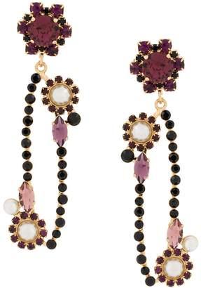 Erdem hanging earrings