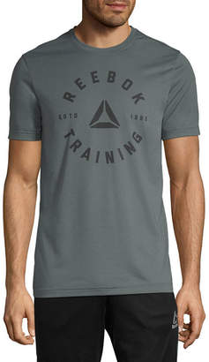 Reebok Short Sleeve Crew Neck T-Shirt
