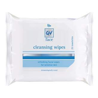 Ego QV Face Cleansing Wipes 25 wipes