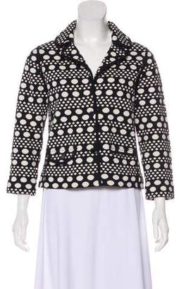 Tory Burch Long Sleeve Knit Blazer