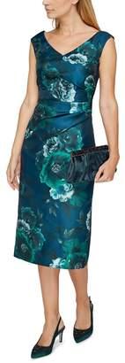 Jacques Vert Baroque Fleur Print Dress