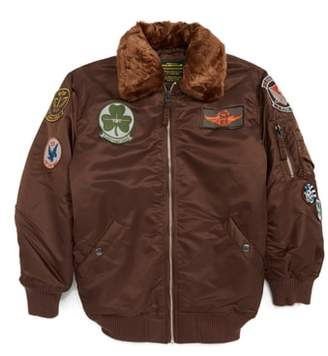 Alpha Industries Maverick Water Resistant Bomber Jacket
