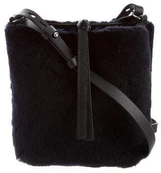 Theory Shearling Crossbody Bag