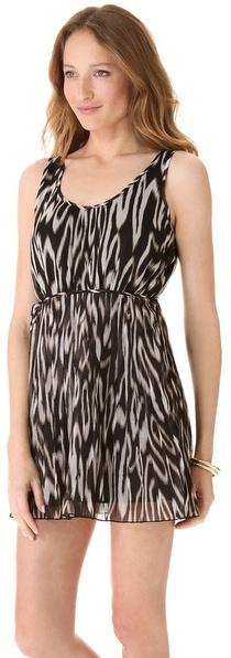 BB Dakota Lissa Print Dress