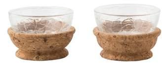 Juliska Qunita Hugo Set of 2 Pinch Bowls