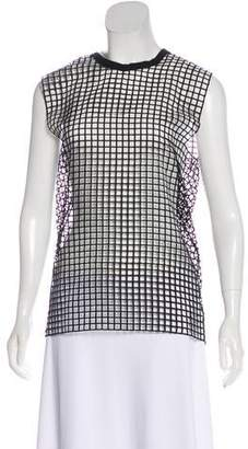 IRO Sleeveless Open-Knit Top