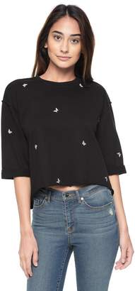Juicy Couture Embroidered Terry Pullover