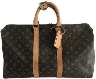 Louis Vuitton Keepall cloth 24h bag