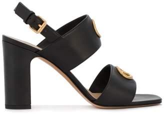 Valentino eyelet embellished sandals