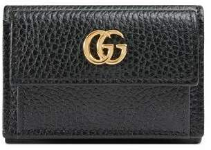 Gucci (グッチ) - 〔GGマーモント〕レザー ウォレット