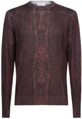 Etro Paisley Silk Cashmere Sweater