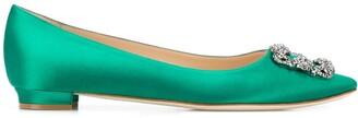Manolo Blahnik Hangisi ballerina shoes