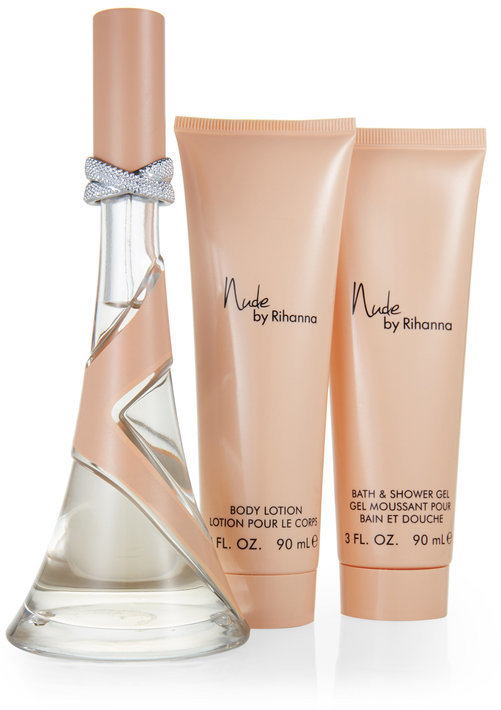 rihanna Nude 3-Piece Fragrance Gift Set