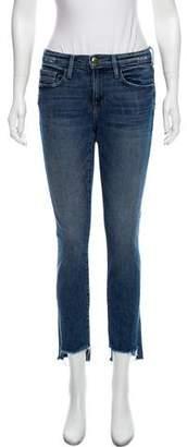 Frame Le Boy Straight-Leg Jeans