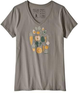 Patagonia Women's Harvest Haul Organic Cotton V-Neck T-Shirt