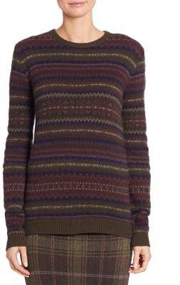 Ralph Lauren Collection Cashmere Fair Isle Sweater $1,090 thestylecure.com