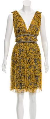 Etoile Isabel Marant Printed Knee-Length Dress
