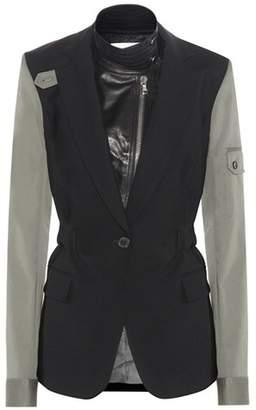 Veronica Beard Army blazer with detachable dicket