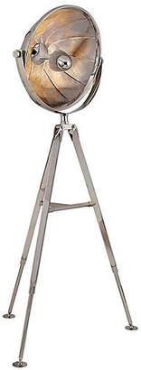 Ralph Lauren Home Ames Pivoting Reflector Floor Lamp - Nickel