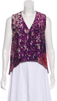 J. Mendel Sleeveless Silk Top
