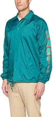 Obey Men's World 2 Nylon Coaches Jacket