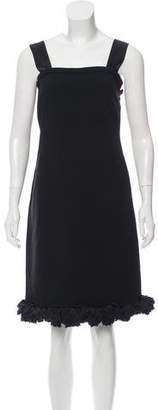 Prada Embellished Satin Dress w/ Tags