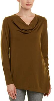 Lafayette 148 New York Asymmetrical Wool Sweater
