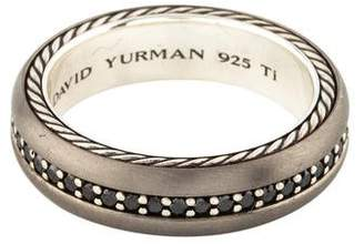 David Yurman Diamond Streamline Band
