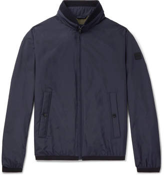 HUGO BOSS Shell Bomber Jacket - Men - Navy