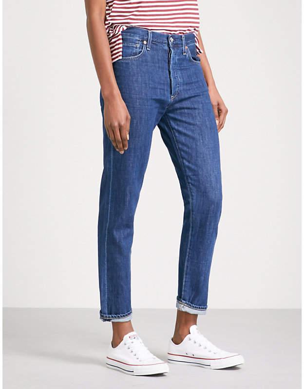 Liya straight high-rise jeans